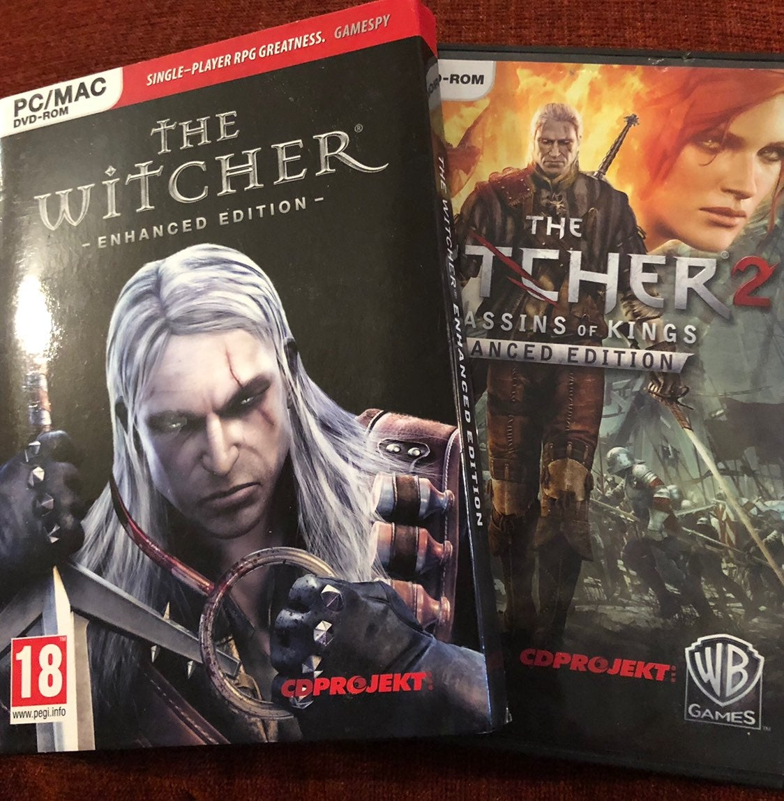 The Witcher 1 and 2 for PC (Bundle)