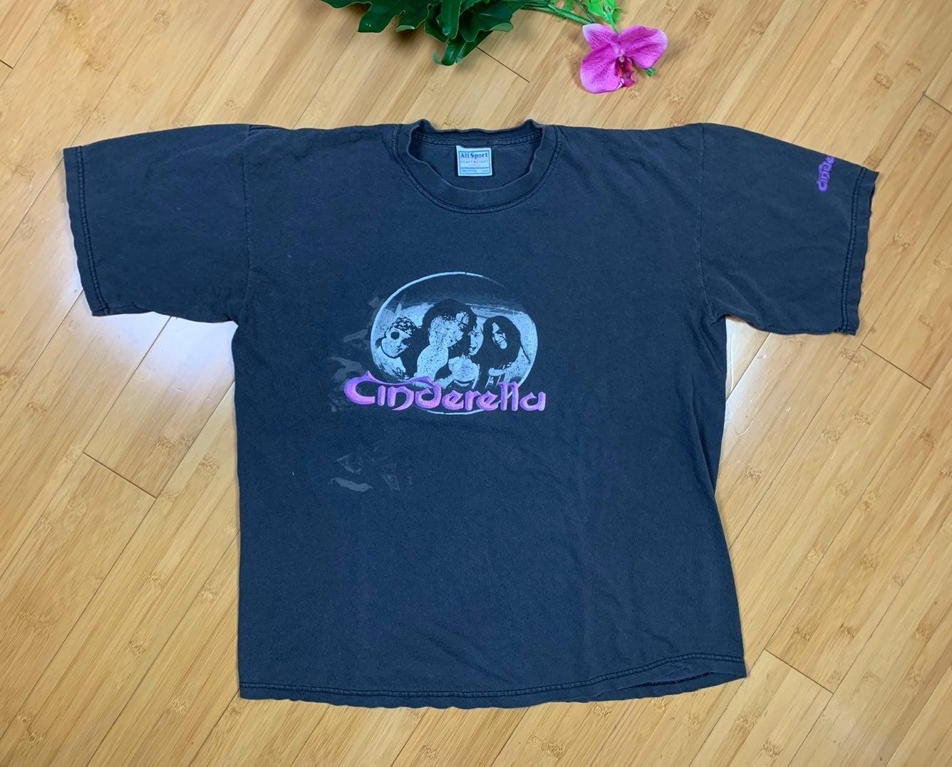 Cinderella concert t shirt
