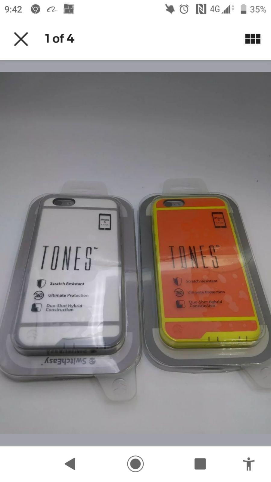 (*2)SwitchEasy iPhone 6 iPhone 6s Tones