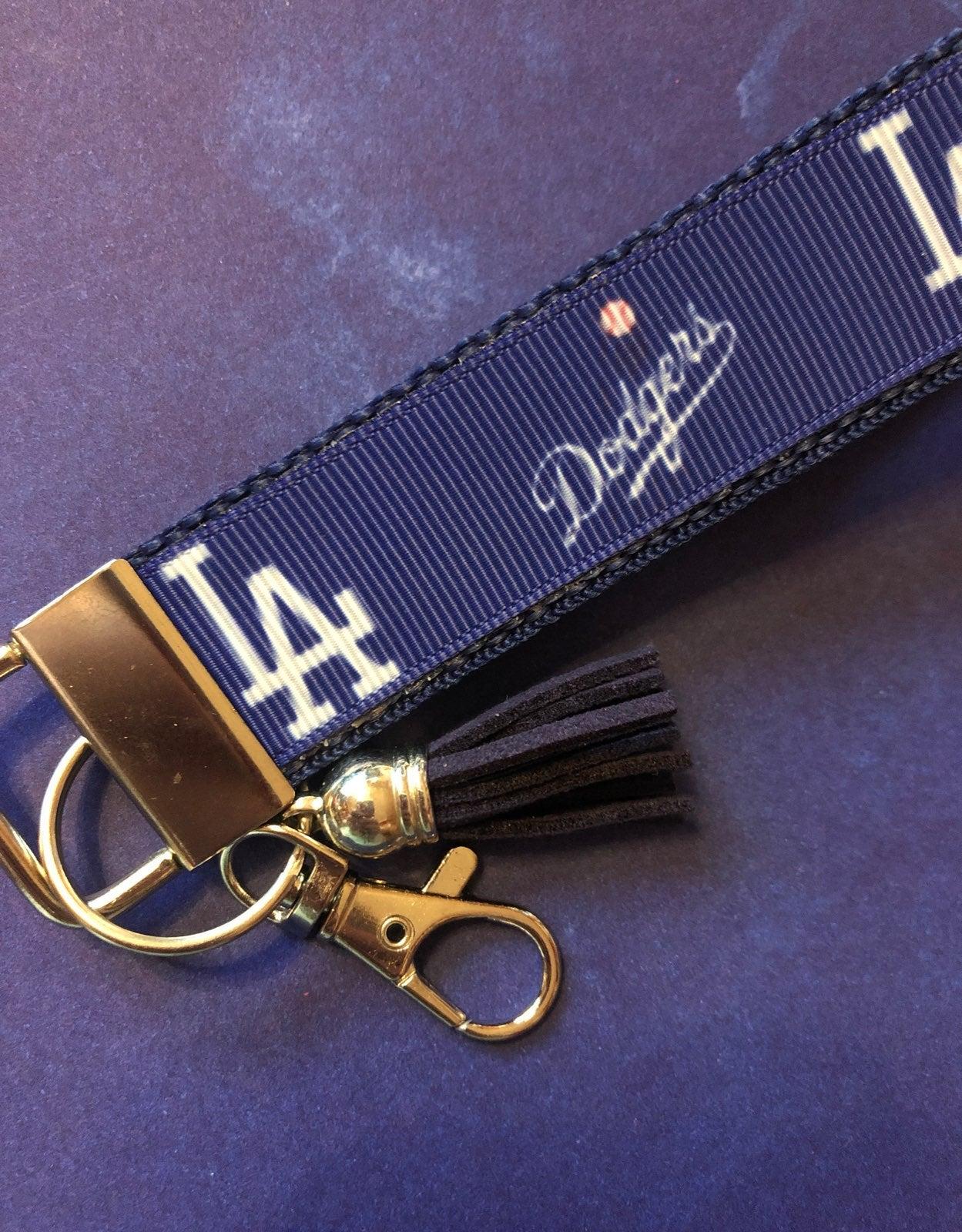 LA Dodgers Key Ring Fob Keychain
