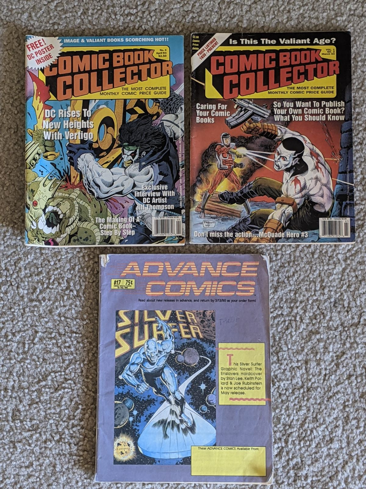 Vintage Comic Book Magazines