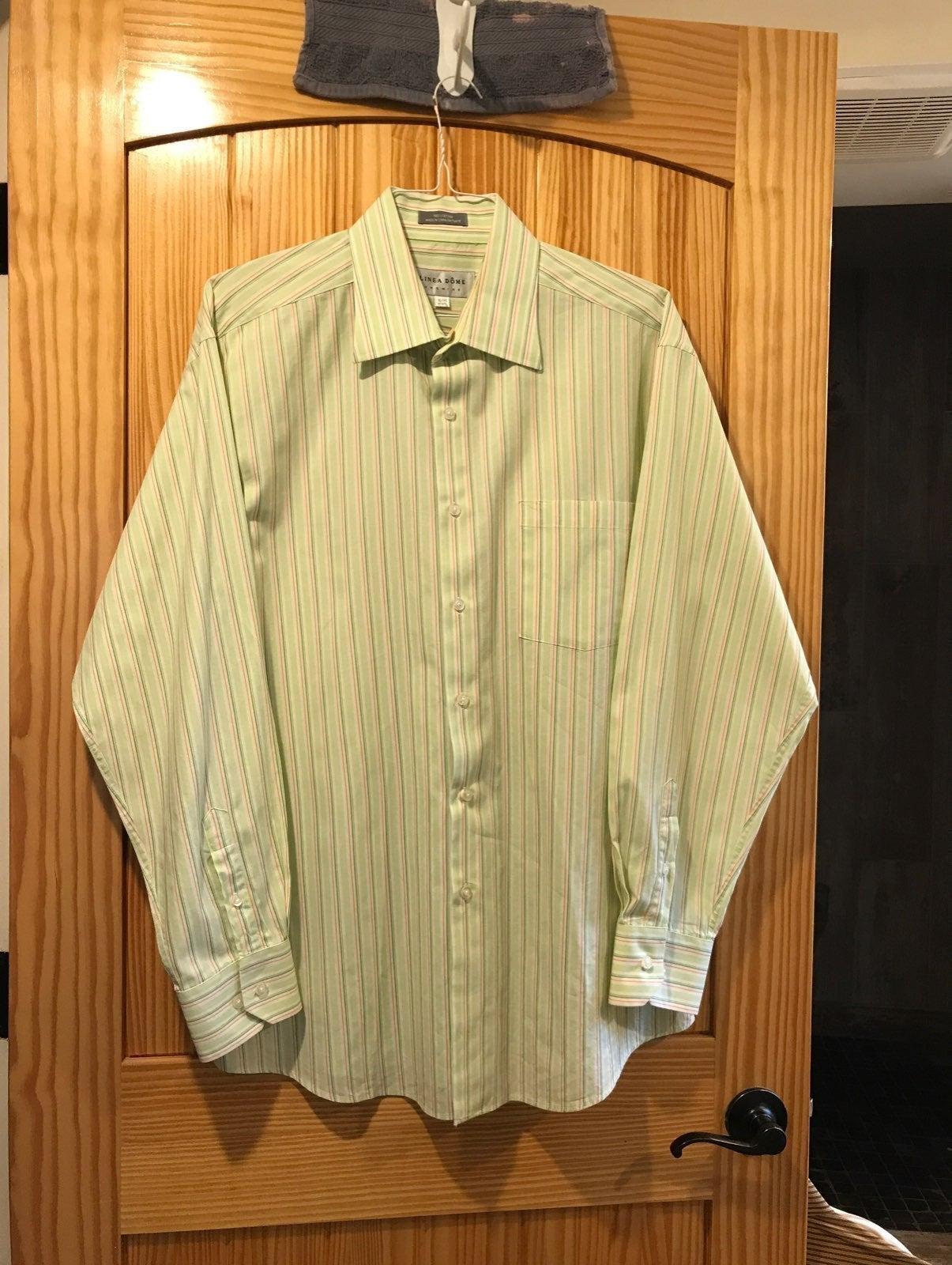 NWOT-Men's Linea Dome Chemise Dress Shir