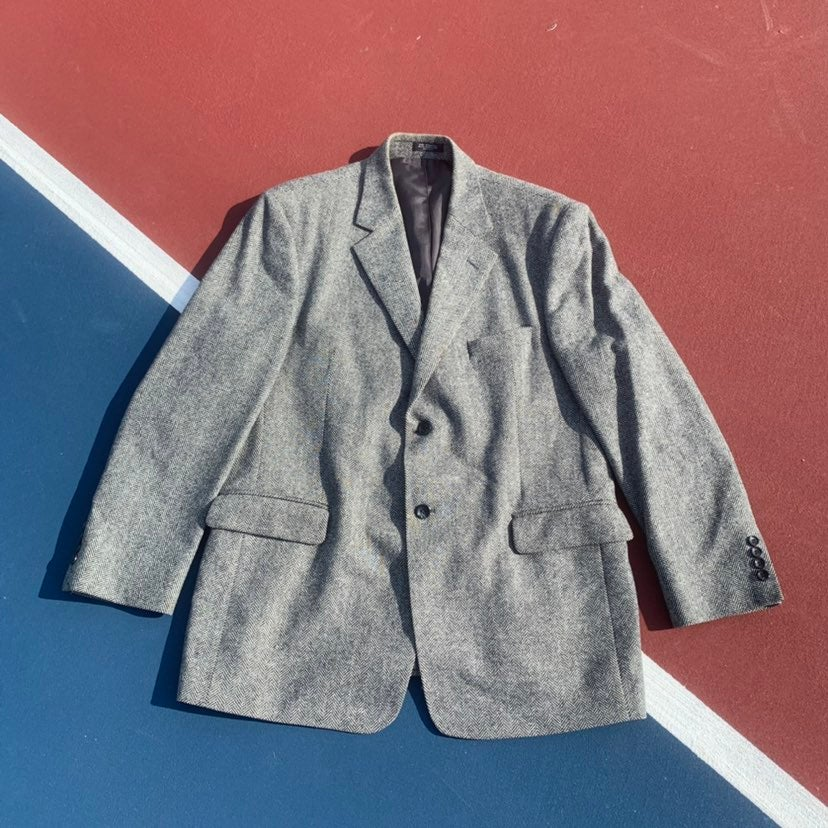 Retro Tweed Blazer