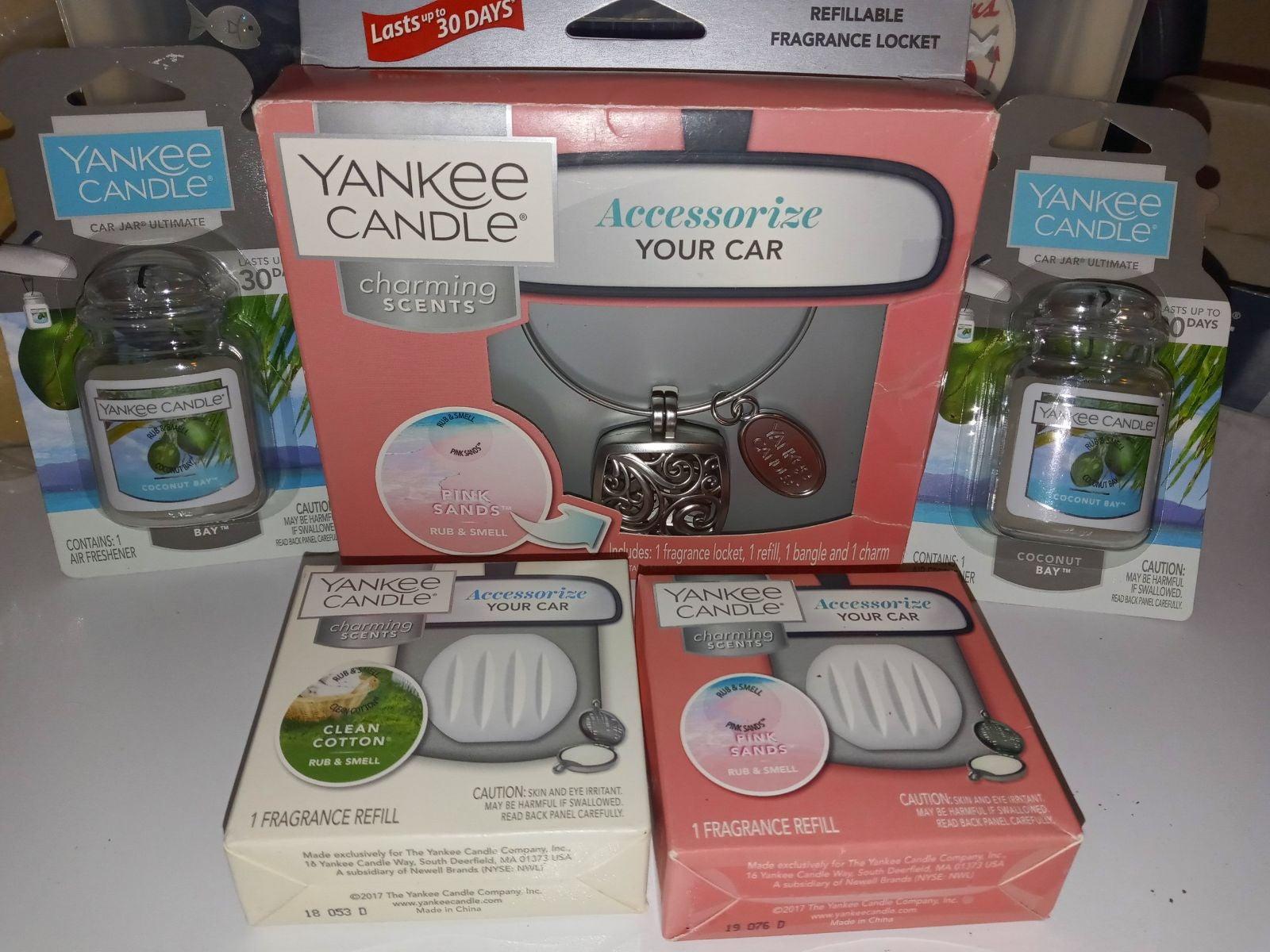 Yankee Candle Locket, Refills, Car Jars