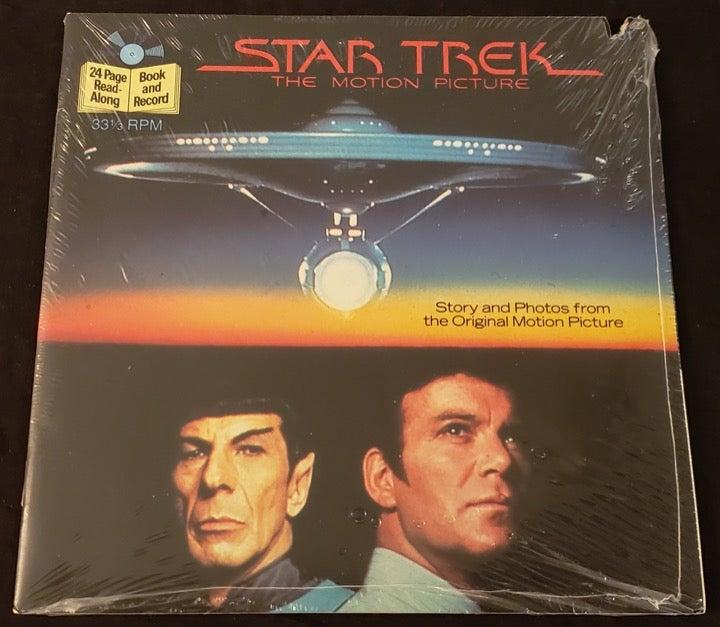 STAR TREK read-along RPM RECORD NEW