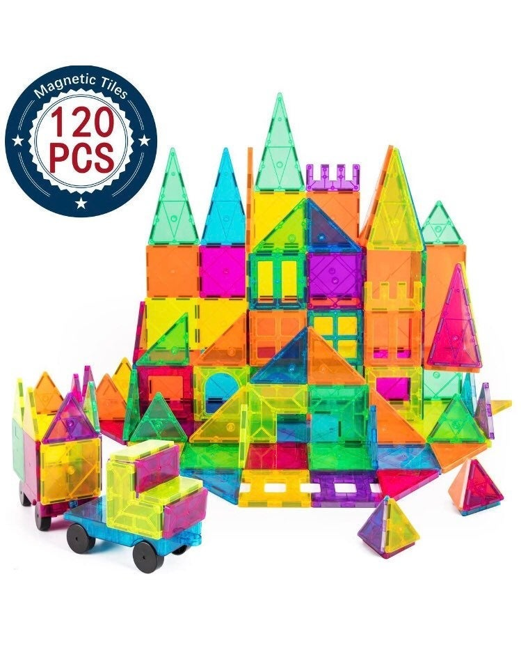 Cossy 120 pcs 3D Magnet Building Tiles