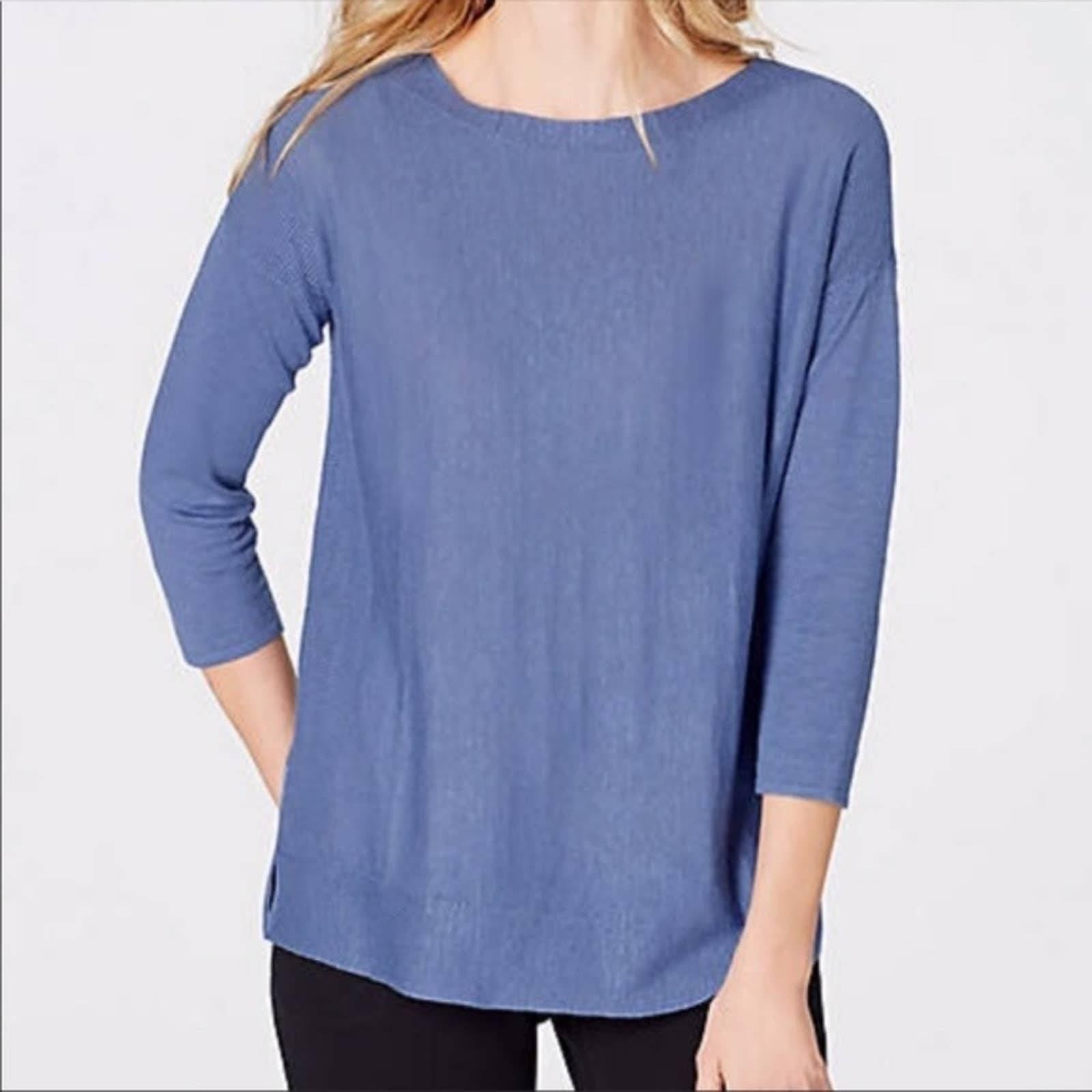 J. Jill Adrienne Boatneck Sweater NWOT