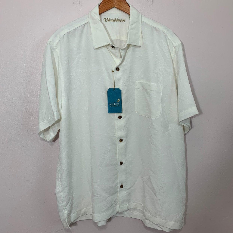 Caribbean Jacquard Shirt Sz XXL