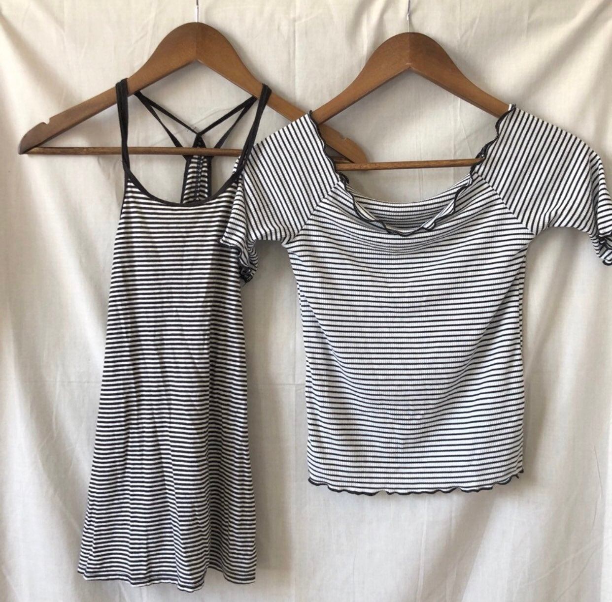 Lot of two size small tops