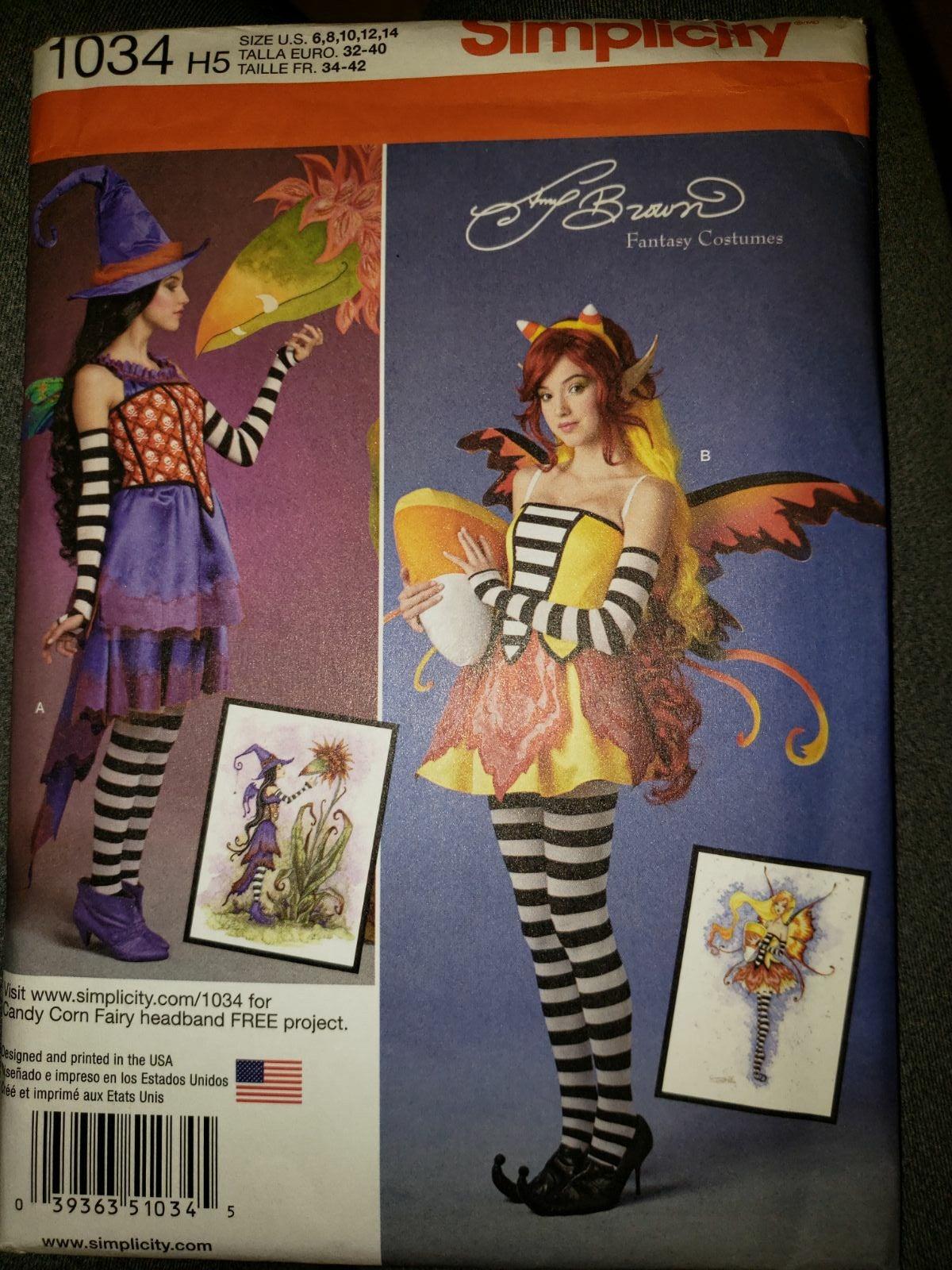 Simplicity Adult Fairy Costume Pattern