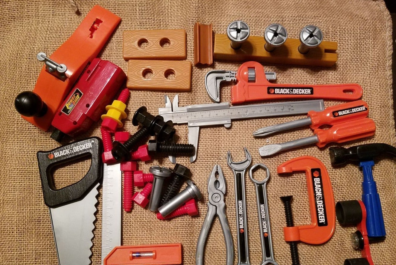 Black & Decker & various kids tools