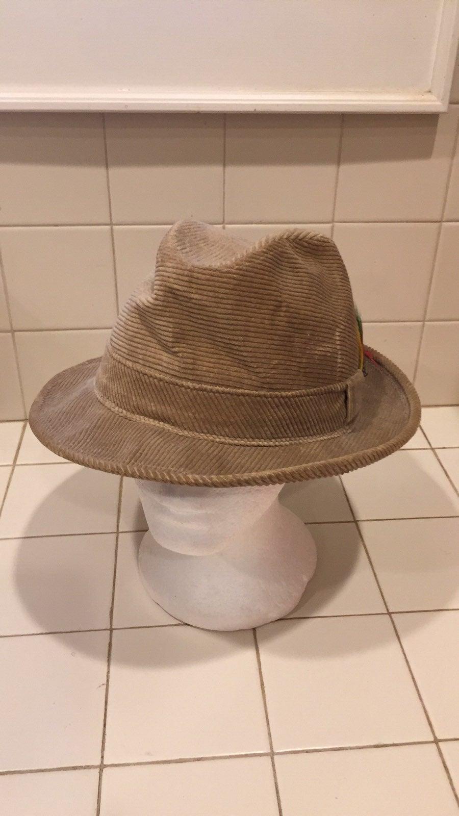 Vintage Adam Fedora style hat XL