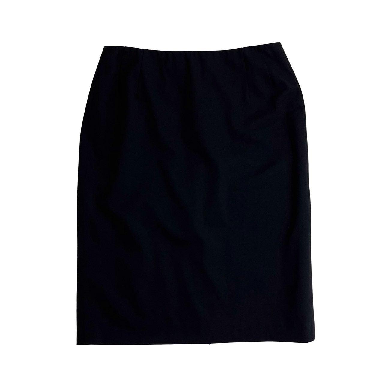 Paul Stuart Vintage Wool Pencil Skirt