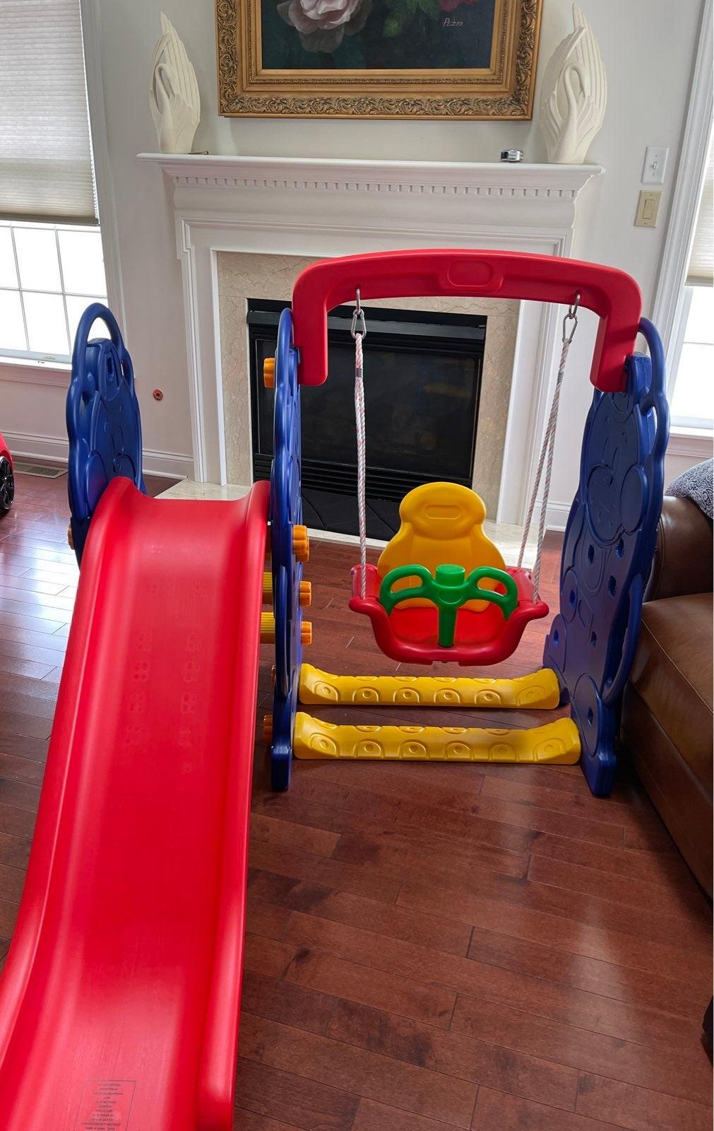 Kids' Slide & Swing