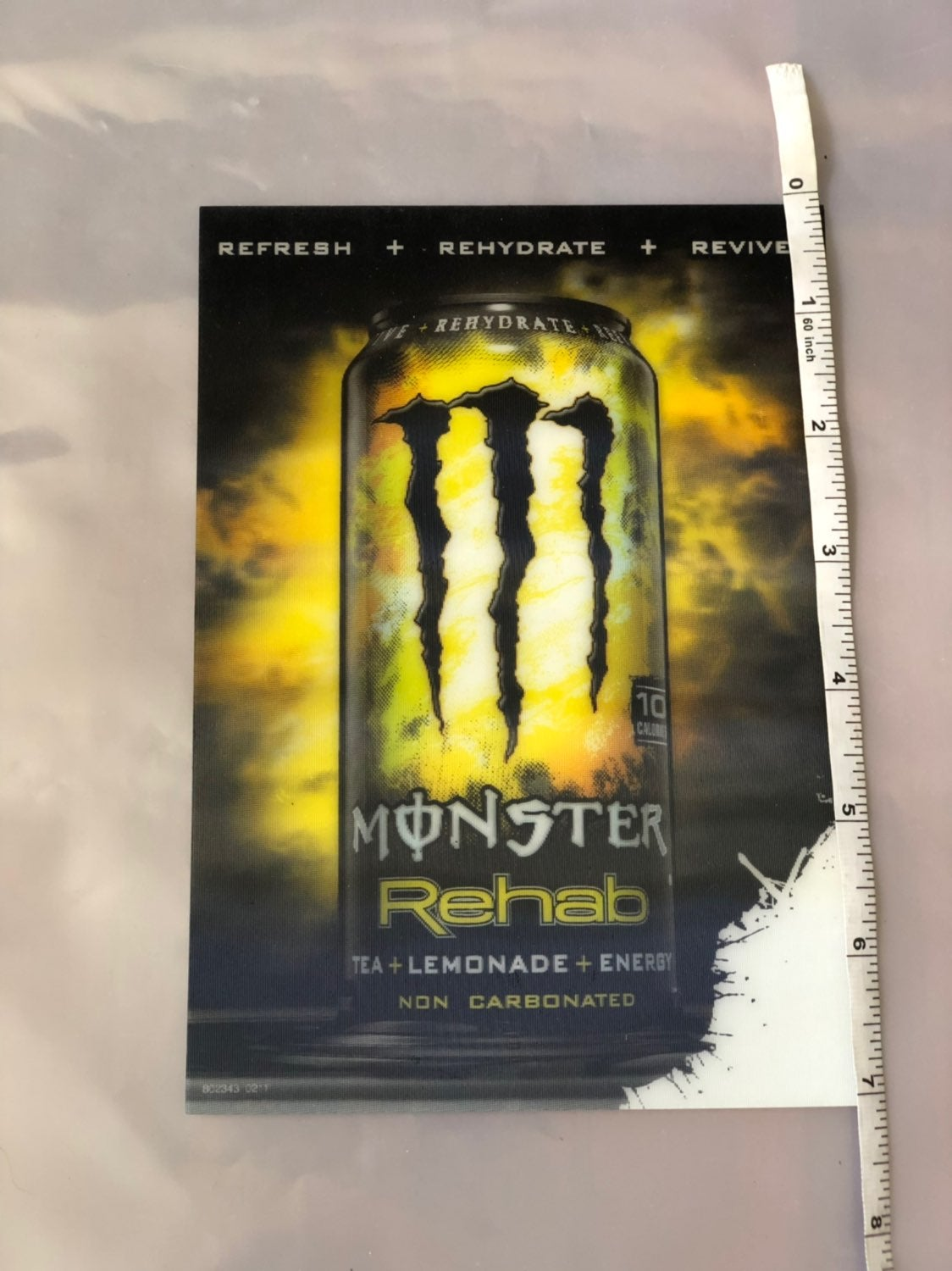 monster energy 3D sticker