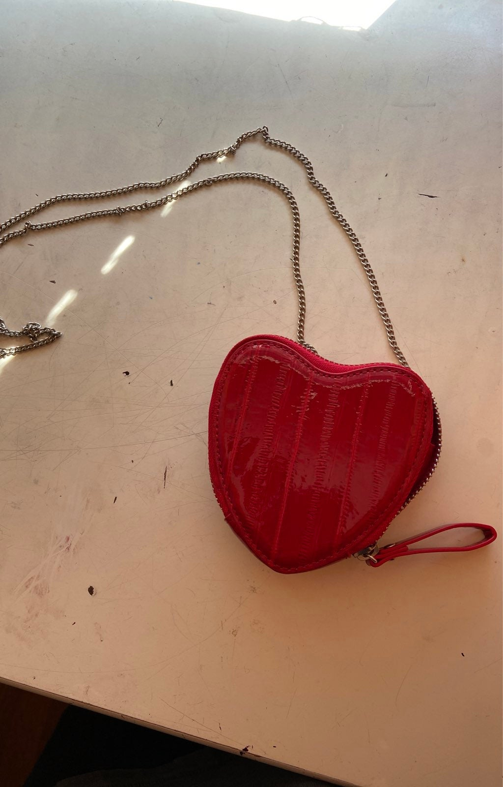 Heart shaped purse from urban outfitters