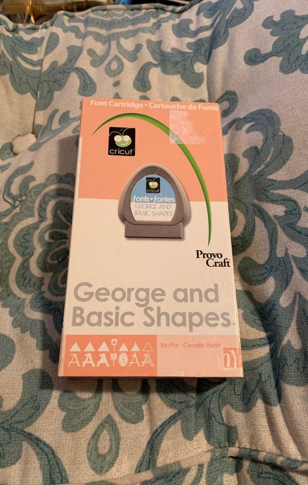 Cricut George And Basic Shapes Font