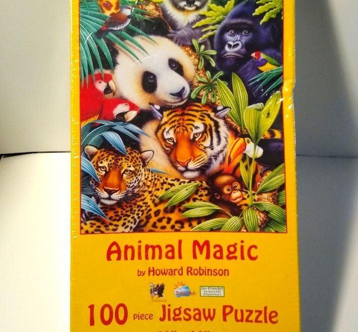 Animal magic puzzle