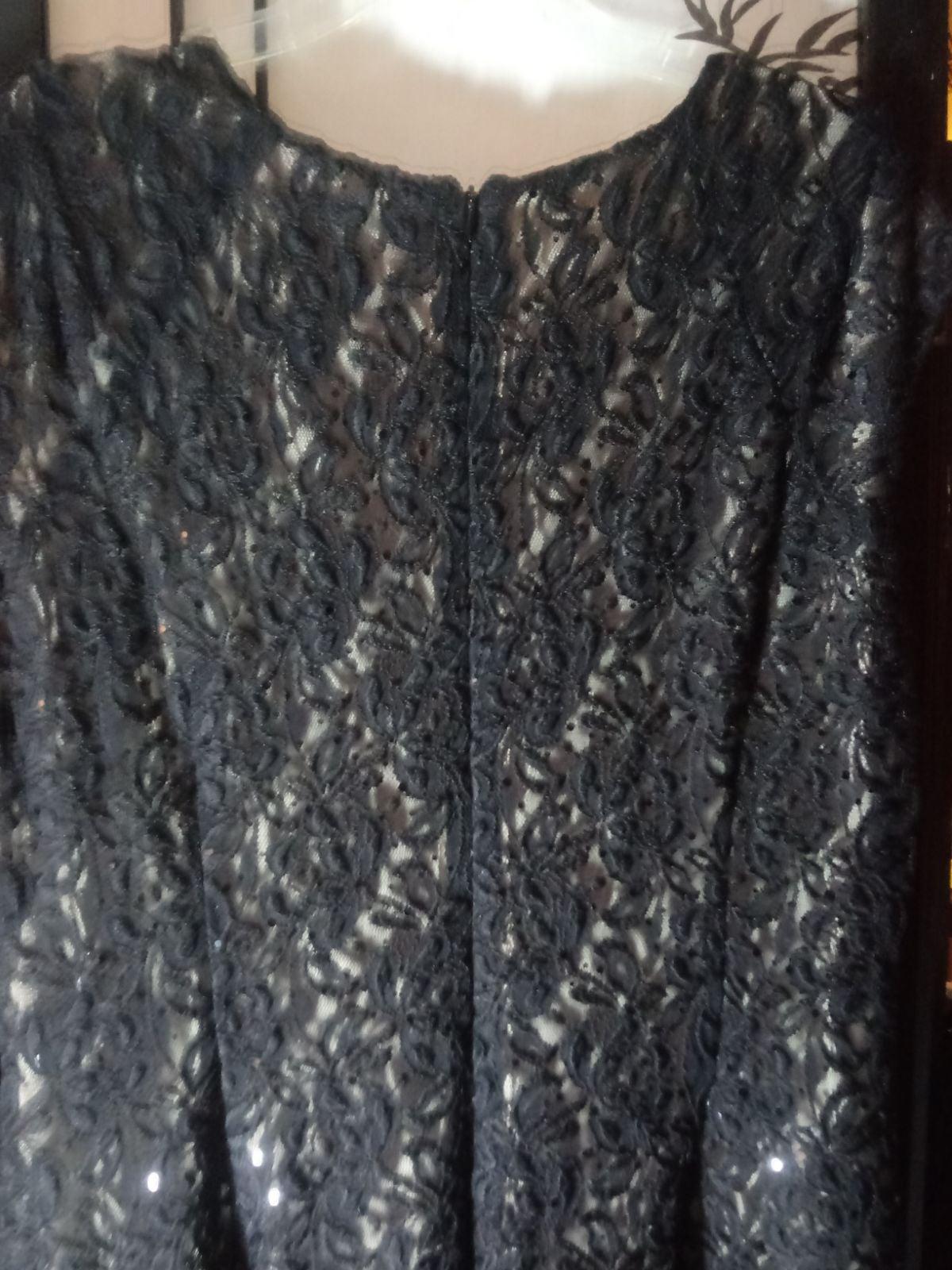 black formal dress