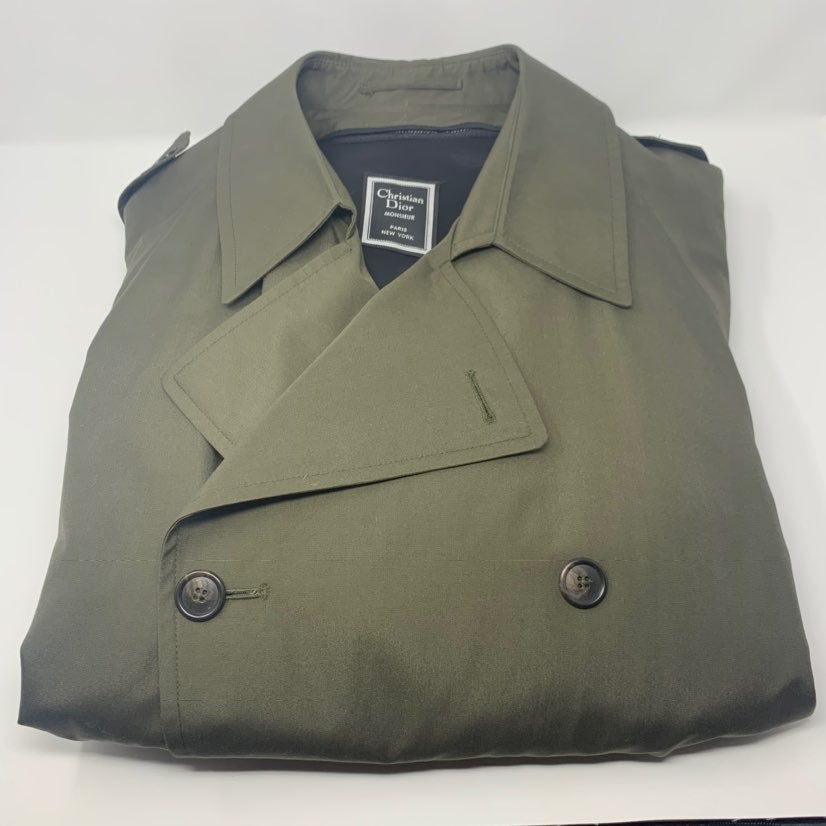 Christian Dior mens trench coat vintage