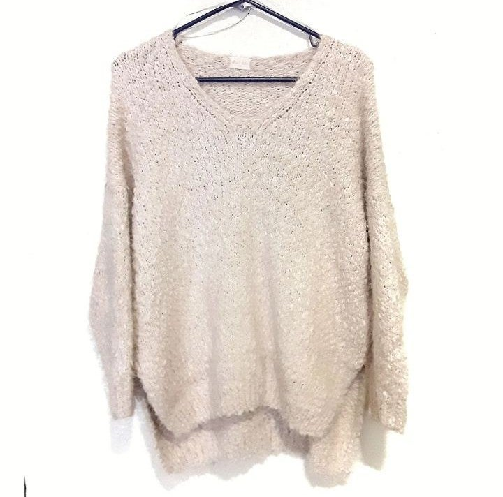 Altar'd State Popcorn Knit Top Size S/M