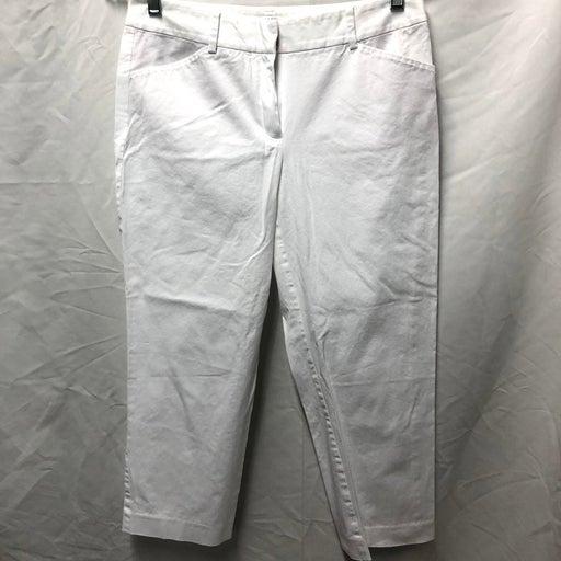 Tahari white pants S