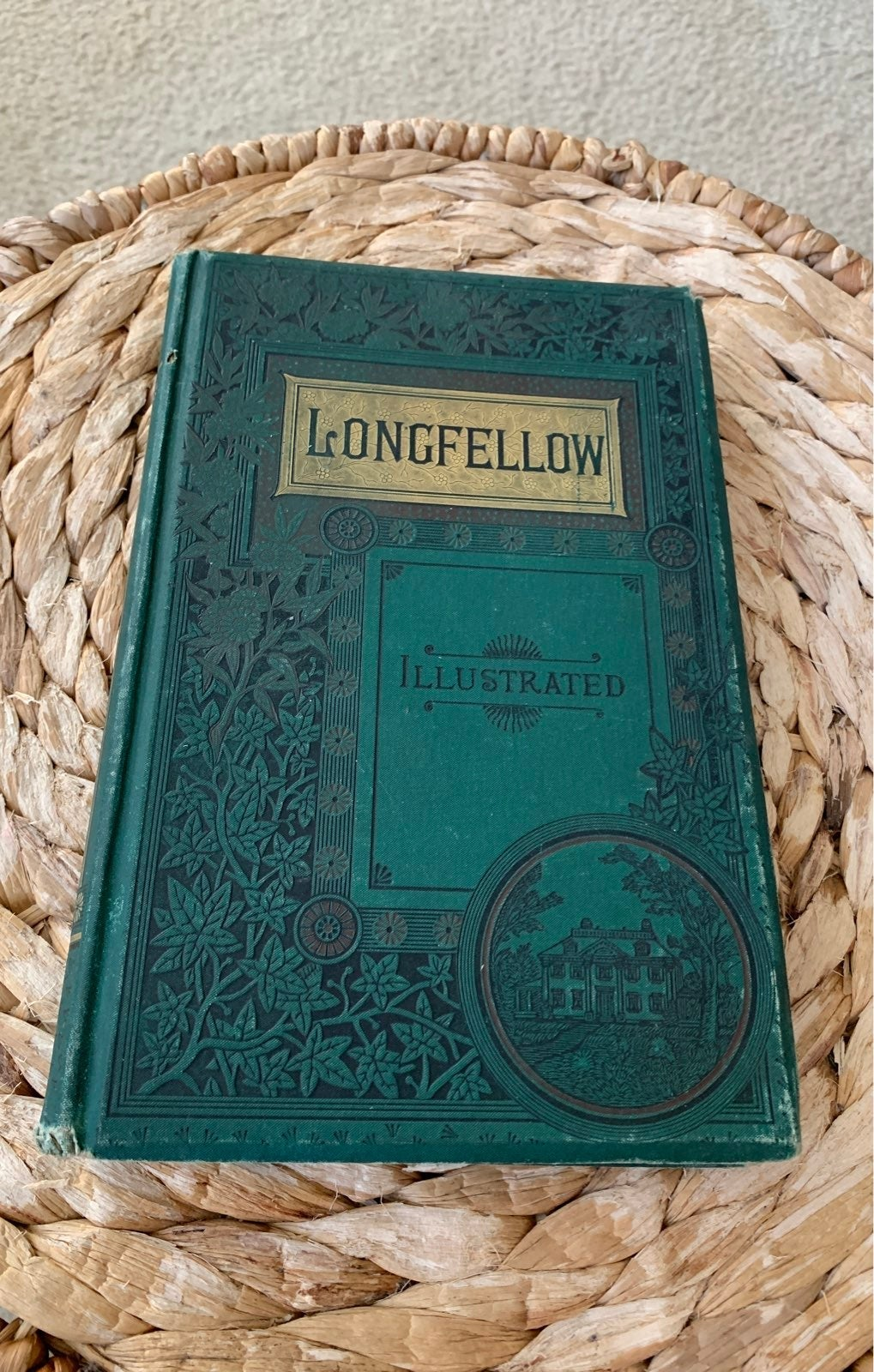 Beautiful 1880s Longfellow