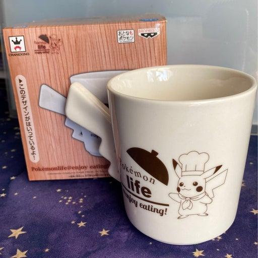 Pokemon life pikachu cafe mug