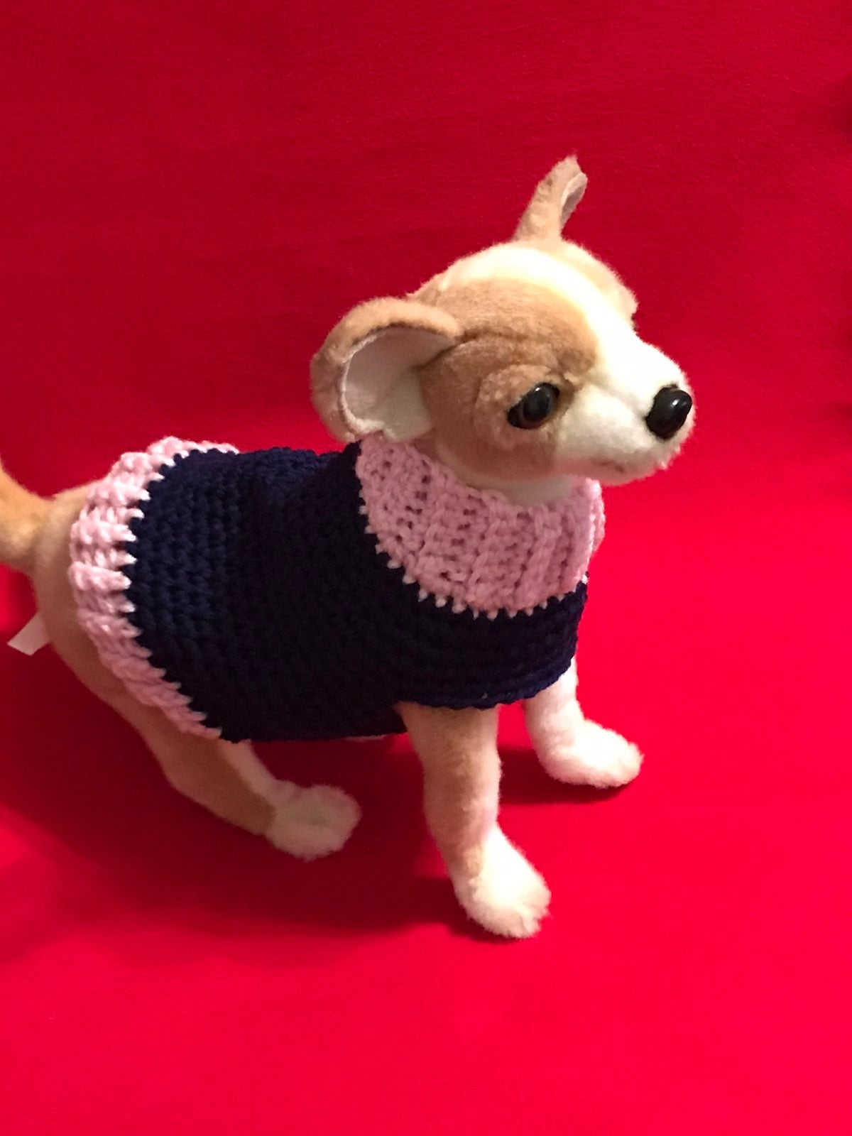 Teacup or Small dog Sweater Size XS/S