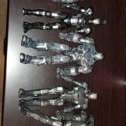 Marvel legends war machine lot (read des