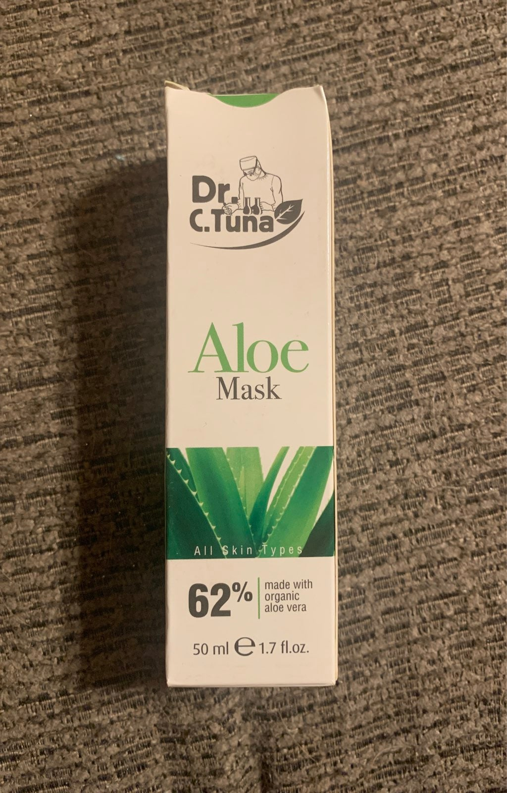Dr C Tuna Aloe Mask