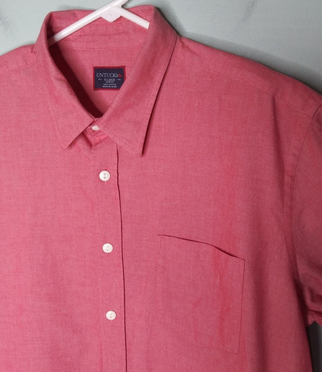 UNTUCKit Slim Fit Button Front Shirt