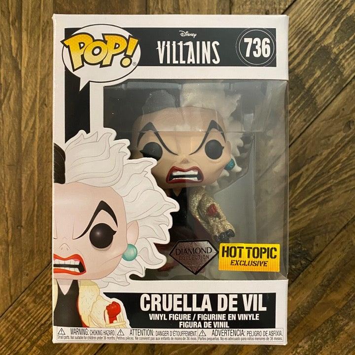 Cruella De Vil Funko Pop #736 Disney