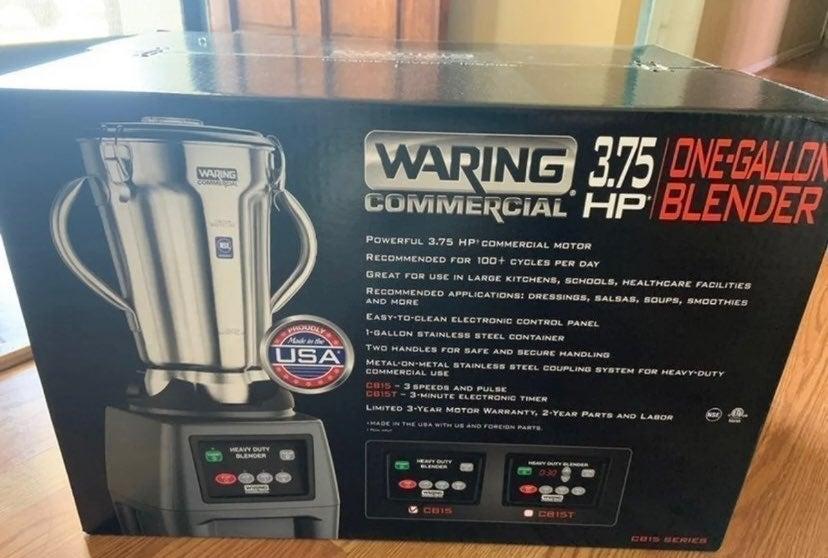 Waring one gallon blender