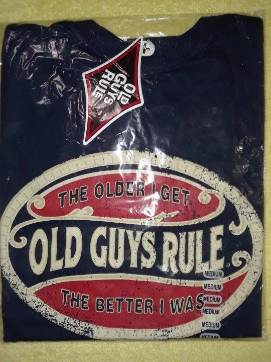 Old Guys Rule Men's Better Oval Tee, M