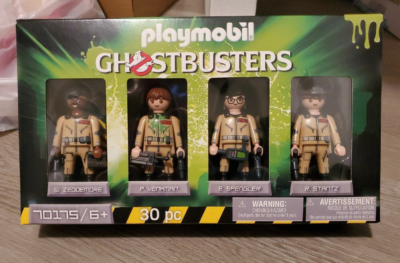 Playmobil Ghostbusters figures