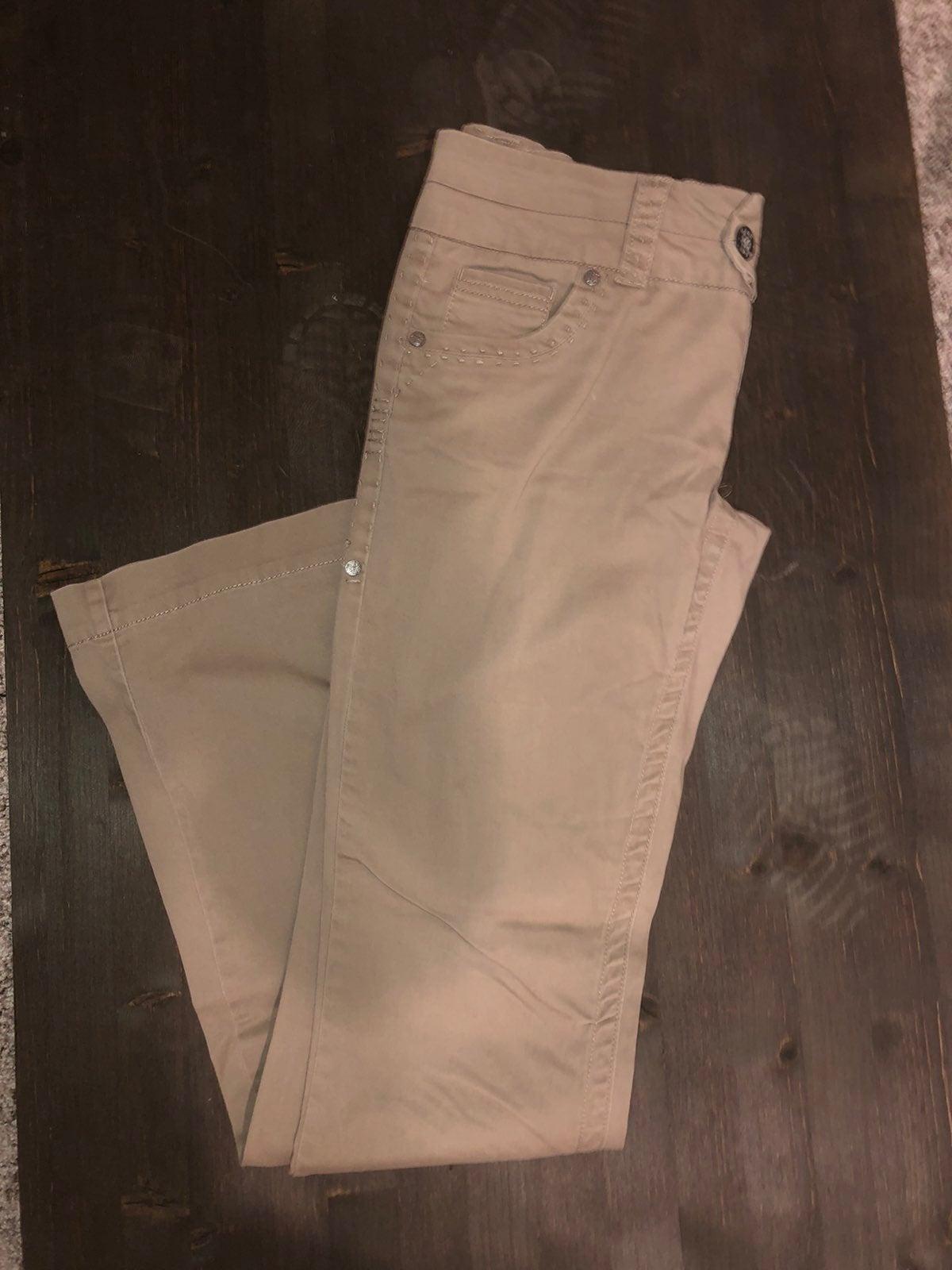 Women's Buckle Khaki Pants