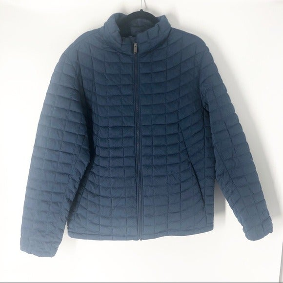 Ben Sherman Jacket Quilted Navy Blue
