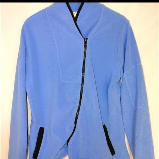 Curves Zipup Long Sleeve Fleece Jacket