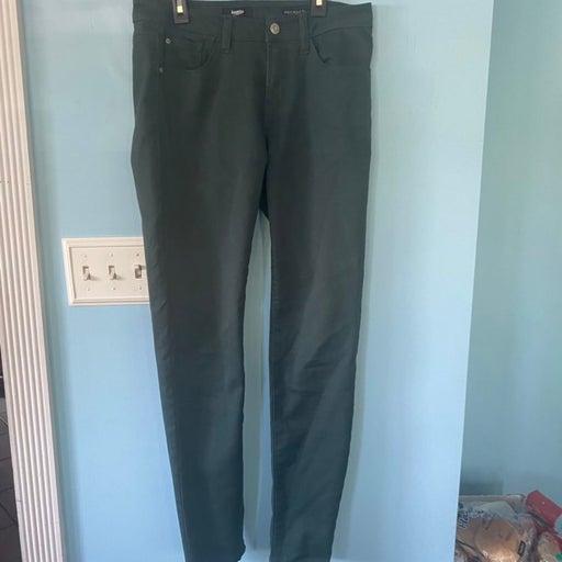 Kensie Green Skinny Jeans