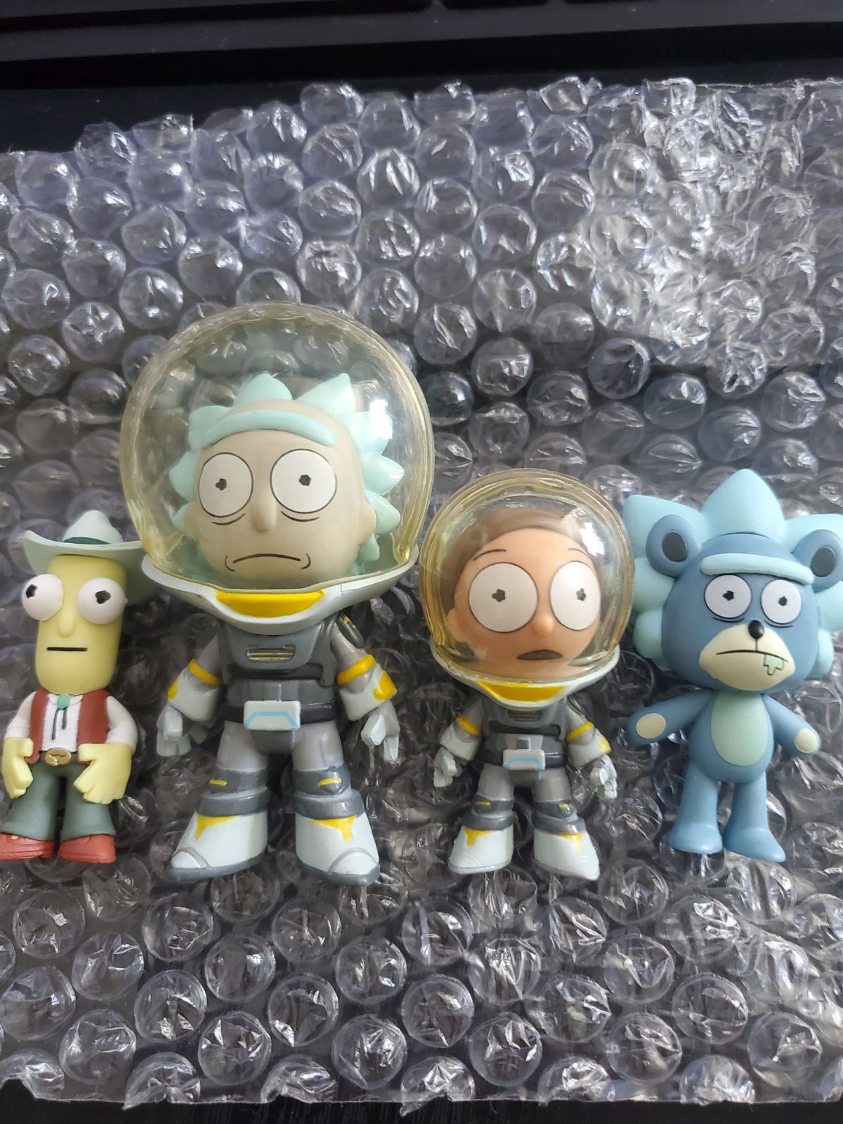 Funko mystery minis Rick and Morty serie
