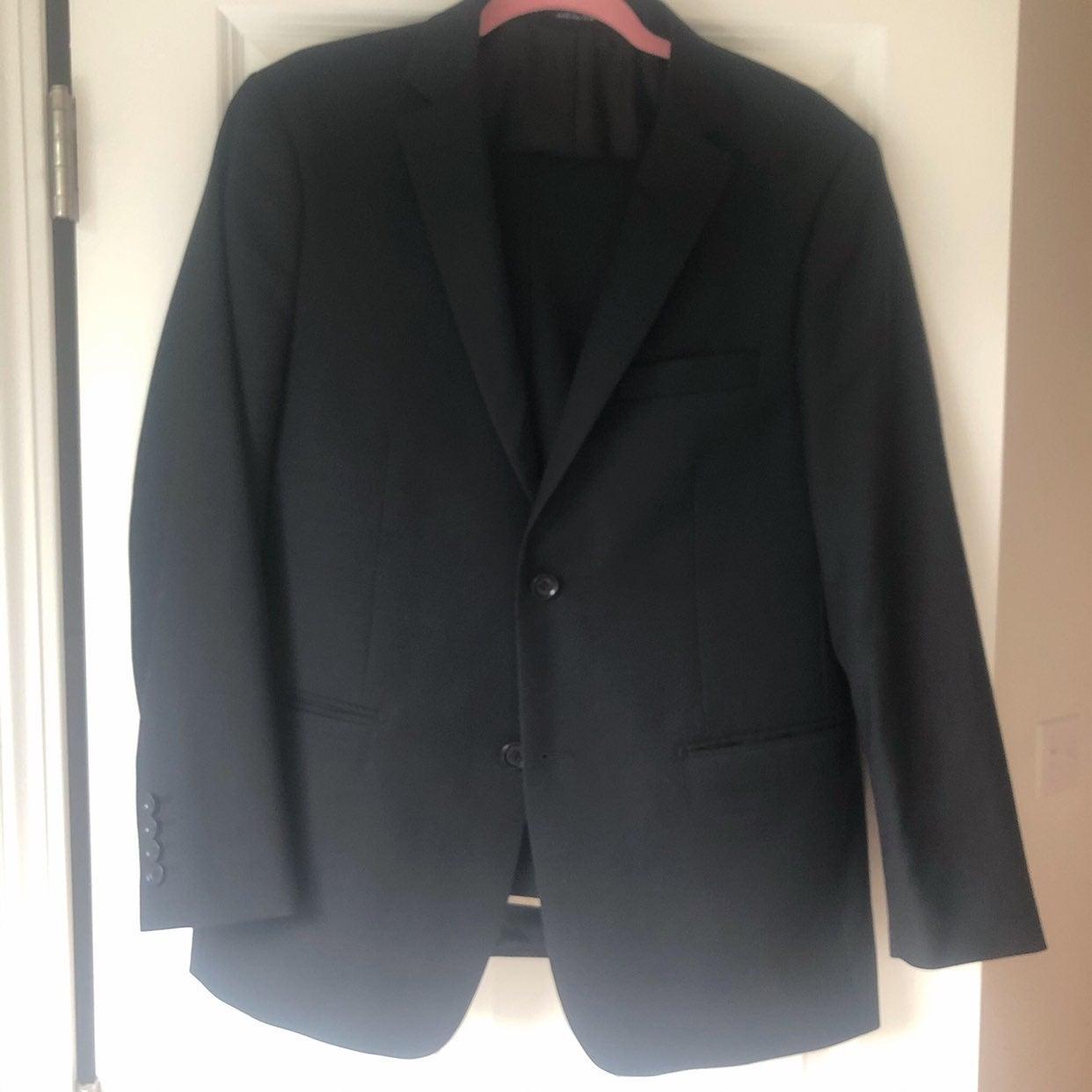 Mantoni Black Men's Suit