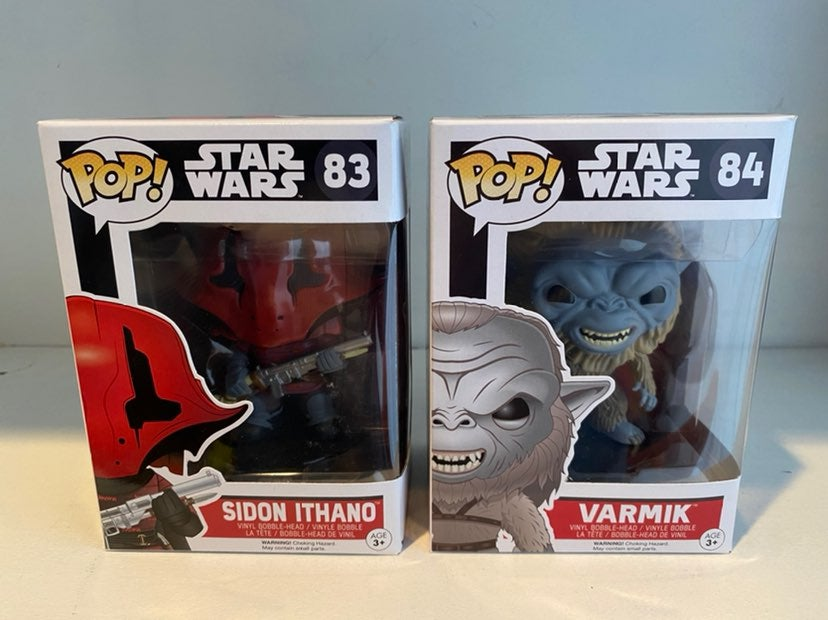 Funko Pop Star Wars TFA Lot of 2