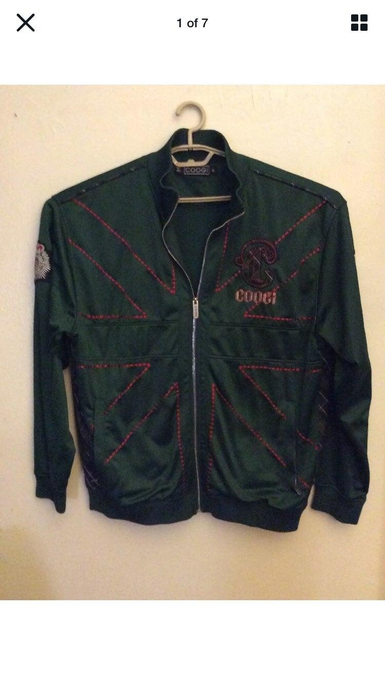 COOGI Mens Size XL Green Jacket