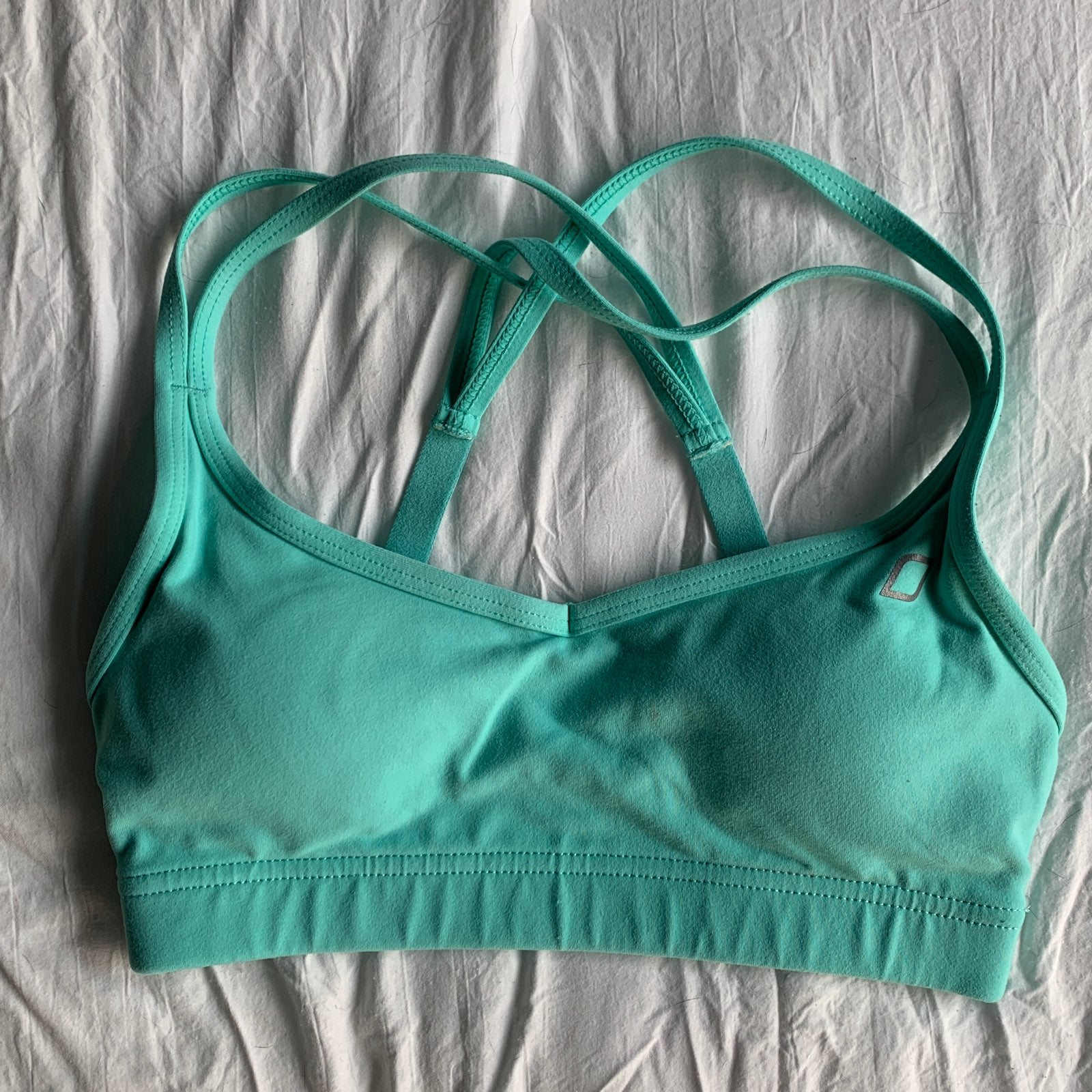 Turquoise Lorna Jane Sports Bra