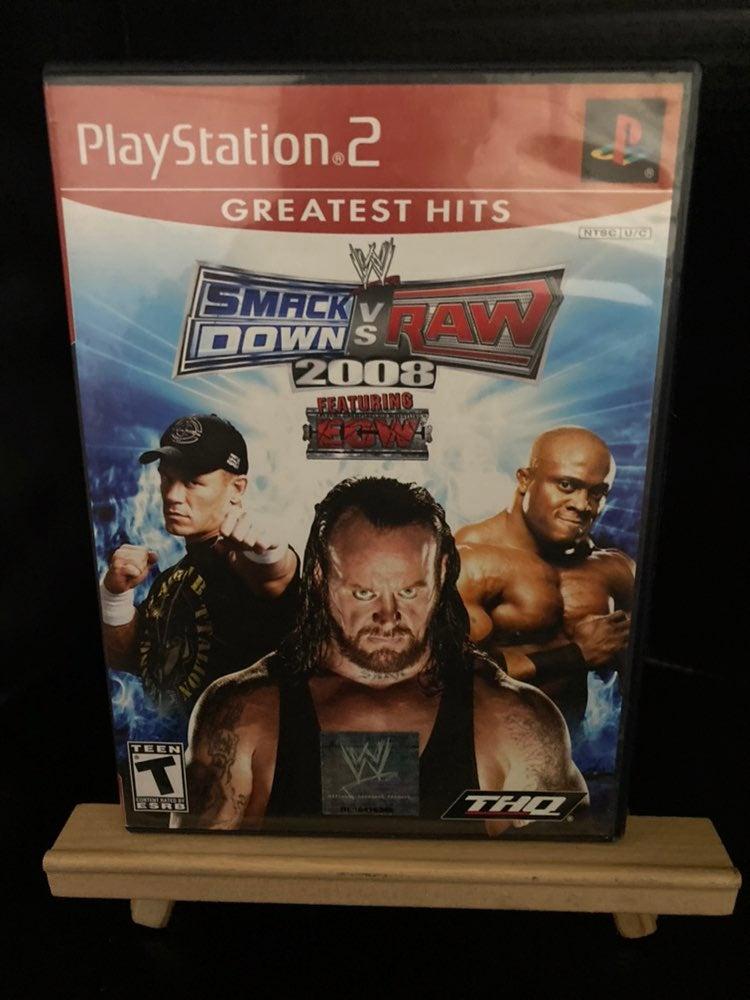 WWE SmackDown vs. Raw 2008 on Playstatio