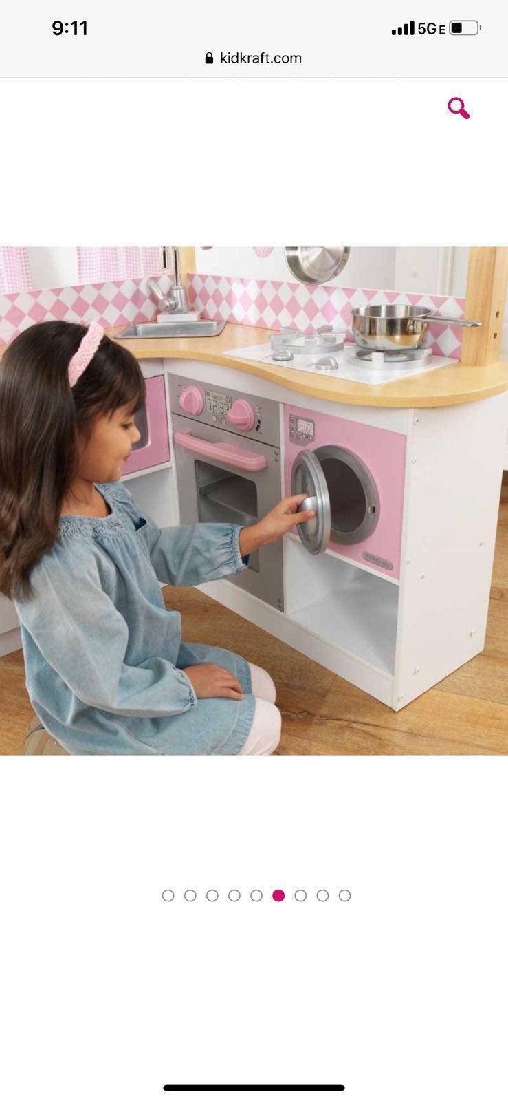 Kid kraft grand gormet corner kitchen pi