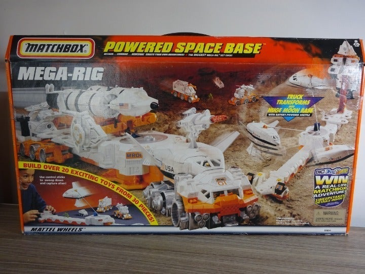 Vtg Matchbox Powered Space Base Mega Rig