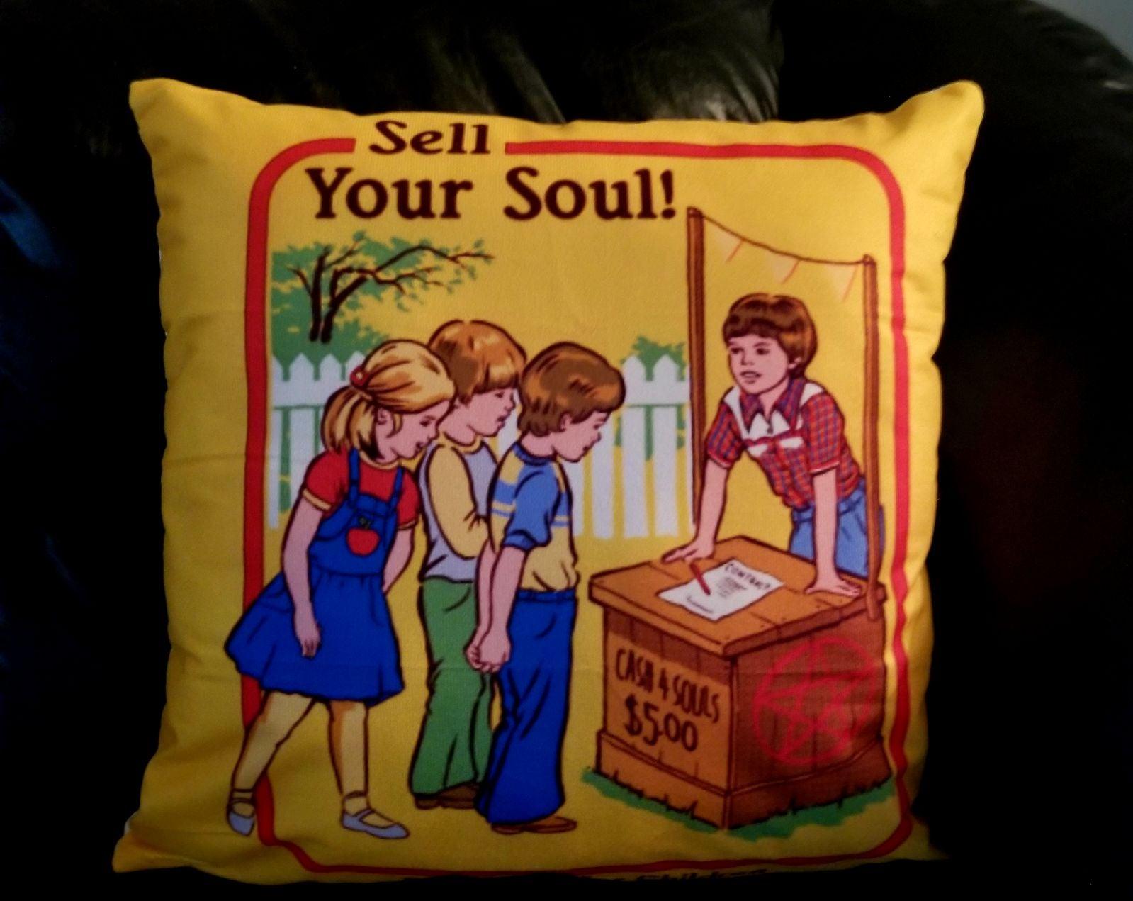 Funny Horror 18x18 Pillowcase