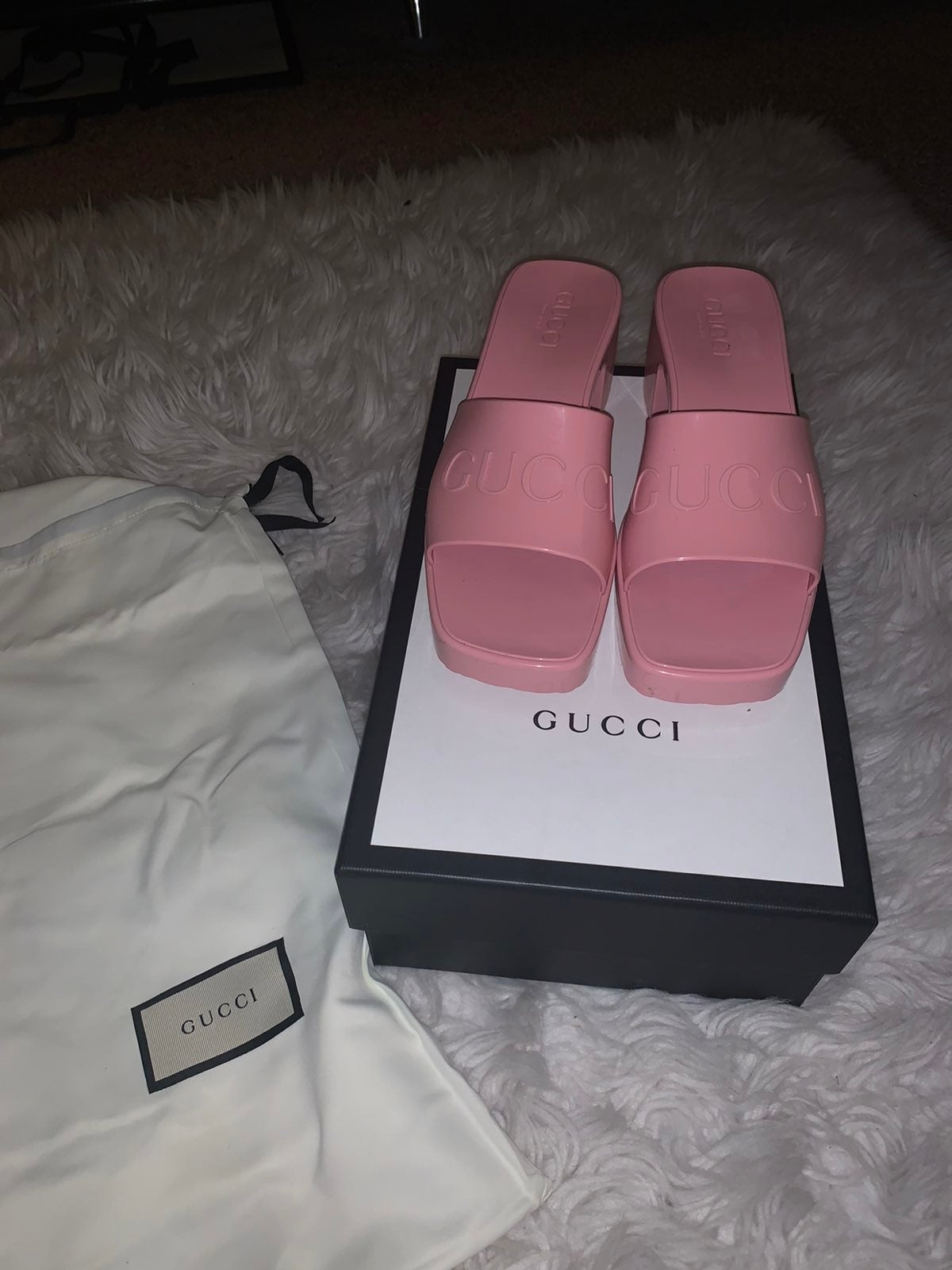 Gucci Women's Rubber Sandal
